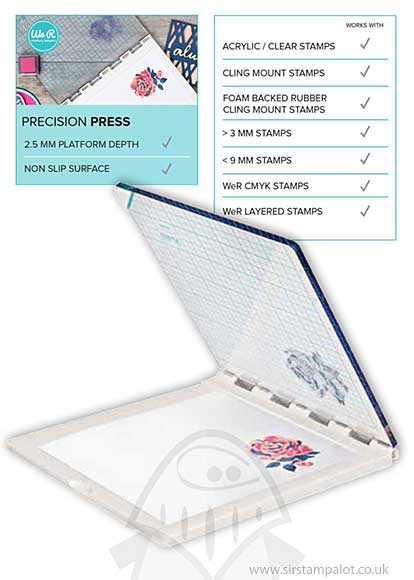 We R Memory Keepers Precision Press Advanced Stamp