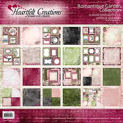 Heartfelt Double Sided Paper Collection 12x12 24pk
