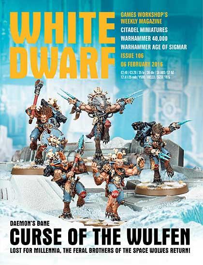 SO: White Dwarf Weekly Magazine Issue 106, sirstampalot.co.uk