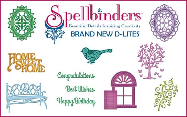 Spellbinders d-lites new for 2014