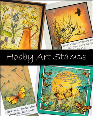 Hobby Art UK Clear Stamp Sets