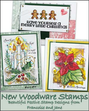 Woodware Christmas 2018 Clear Stamps