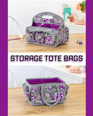 New Crafters Companion Craft Storage Tote Bags