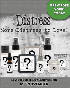 Tim Holtz New Distress Colour, November 2020