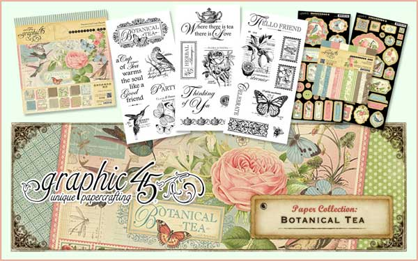 Graphic 45 Botanical Tea Collection