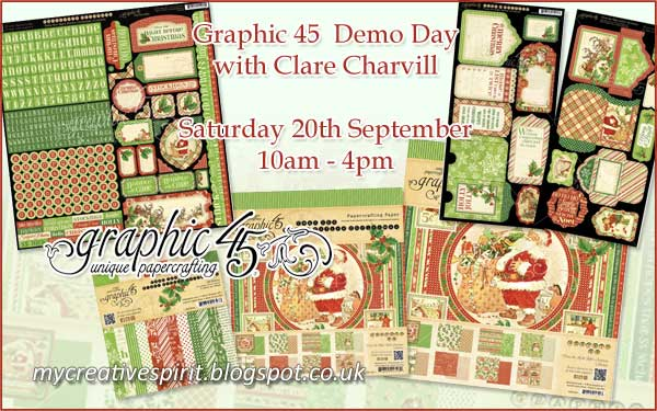 Demo Day with Clare Charvill Graphic 45