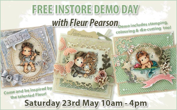 Free Demoday at Sir Stampalot with Fleur in May
