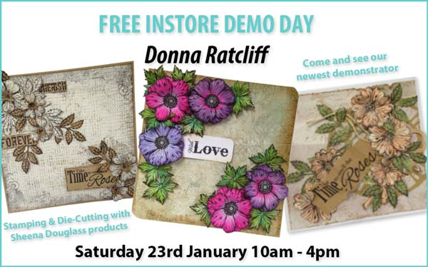 Free Demoday at Sir Stampalot with Donna Ratcliff