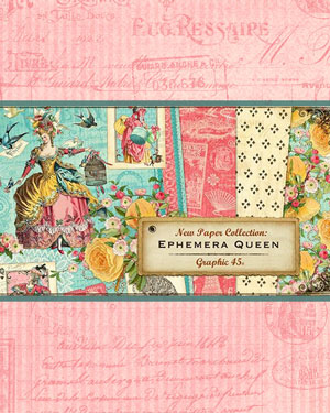 Graphic 45 Ephemera Queen