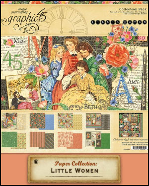 Graphic 45 Little Women Collection 2018