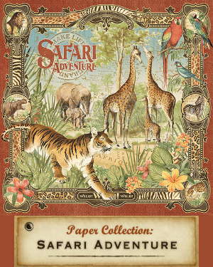 Graphic 45 - On Safari Collection 2016
