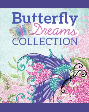 Heartfelt Creations Butterfly Dreams Collection, 2018