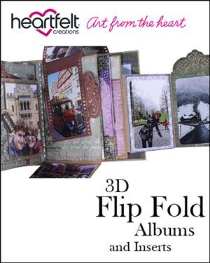 Heartfelt Creations Flip-fold Albums, 2018