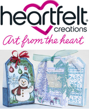 Heartfelt Creations Snowkissed and Winter Wonderland 2016