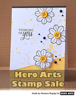 Hero Arts Stamp Sale