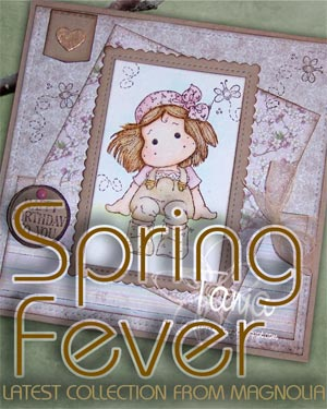 New Magnolia Spring fever Stamp collection, 2016