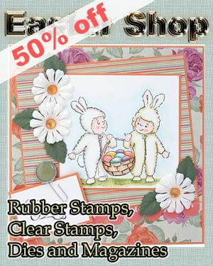 Easter Shop with many discounted items