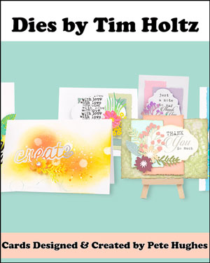 New Tim Holtz Cutting Dies and Embossing Folders, February 2018