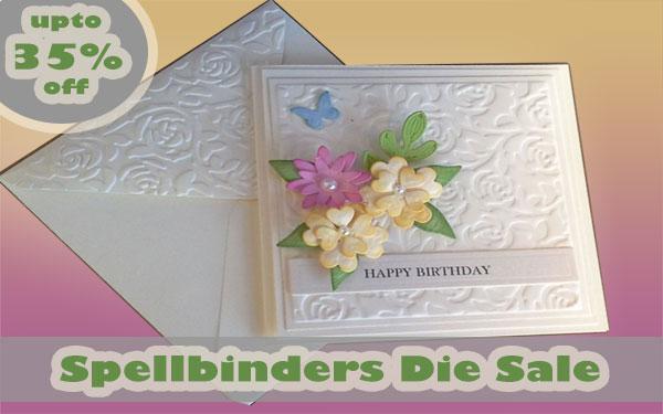 Spellbinders Sale - Last few days!
