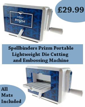 Spellbinders Prizm Portable Die Cutting Machine