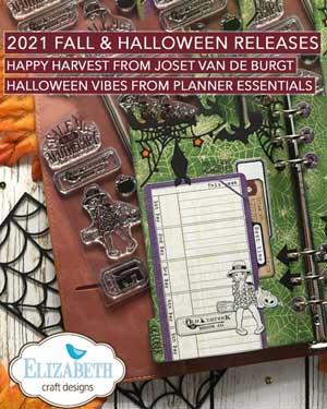Elizabeth Craft Designs - Happy Harvest and Halloween Vibess