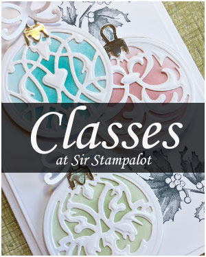 Classes and Demos at Sir Stampalot, Peterborough
