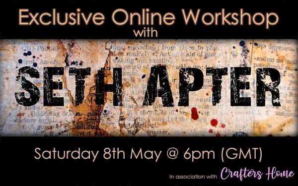 Exclusive Online Workshop with Seth Apter