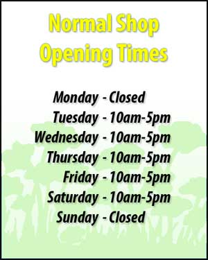 Sir Stampalot Opening Times
