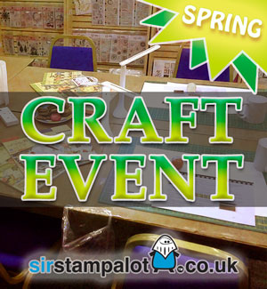 Spring Event Weekender at Sir Stampalot, Peterborough 2018