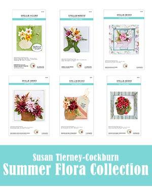 Spellbinders Summer Flora by Susan Tierney Cockburn