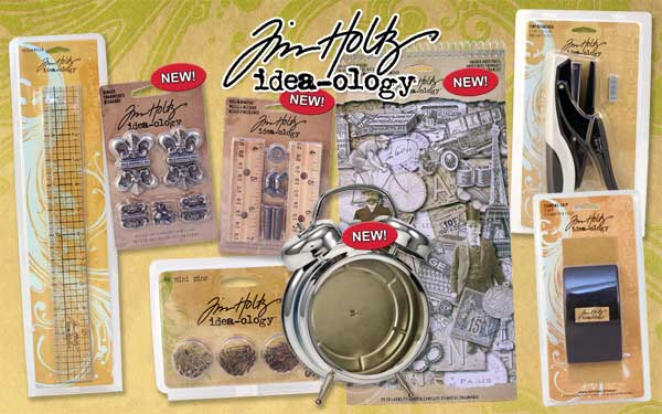 Tim Holtz New Idea-ology