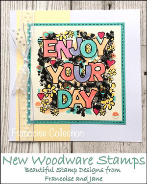 New Woodware Stamps 2018
